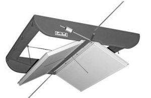 JDP 2600 2-Way Double-Sided Ceiling Air Inlet